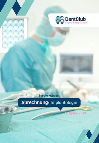 DentClub Buch Abrechnung Implantologie